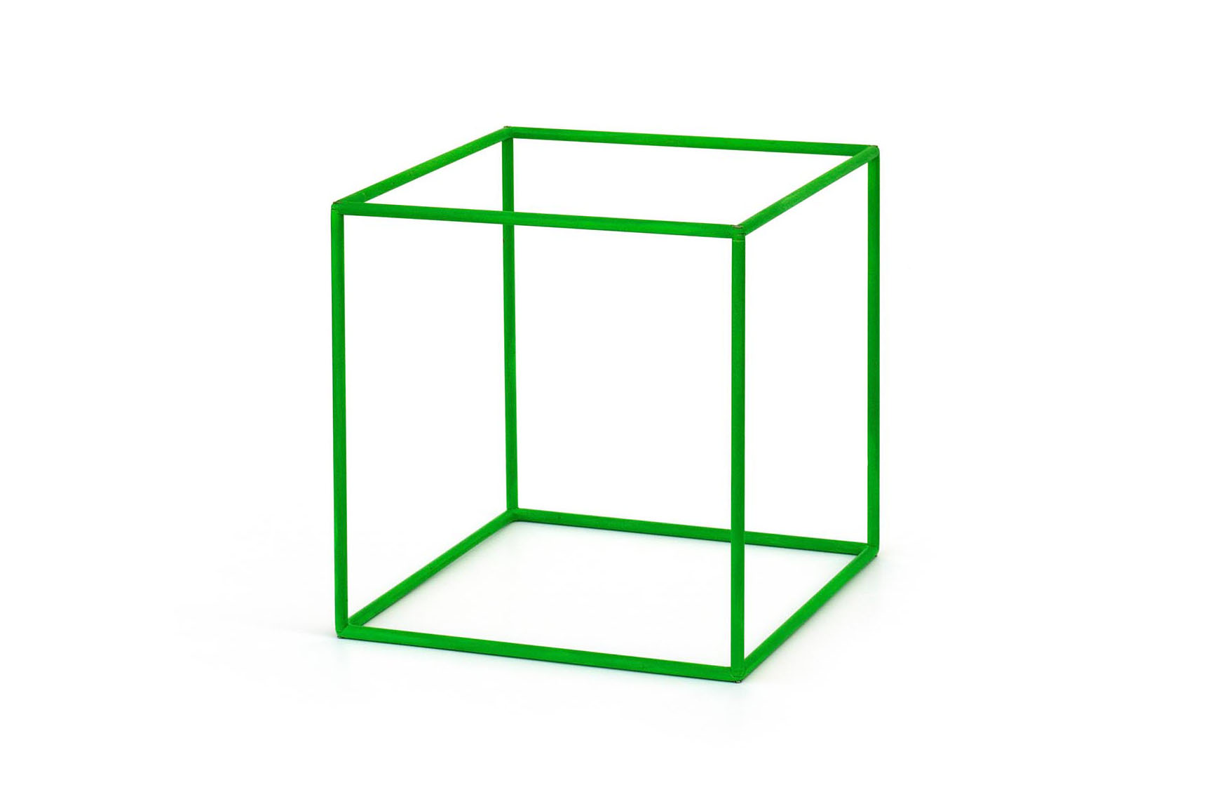 Green Cube Add Canvas